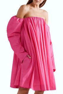 Calvin Klein 205W39NYC Bubblegum Pink head turning party dress