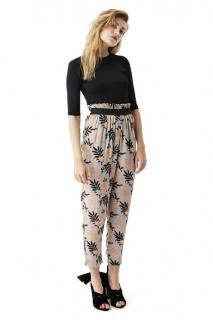 Ganni floral Miku trousers