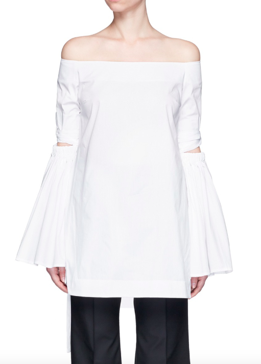 Ellery white cotton Cyril top