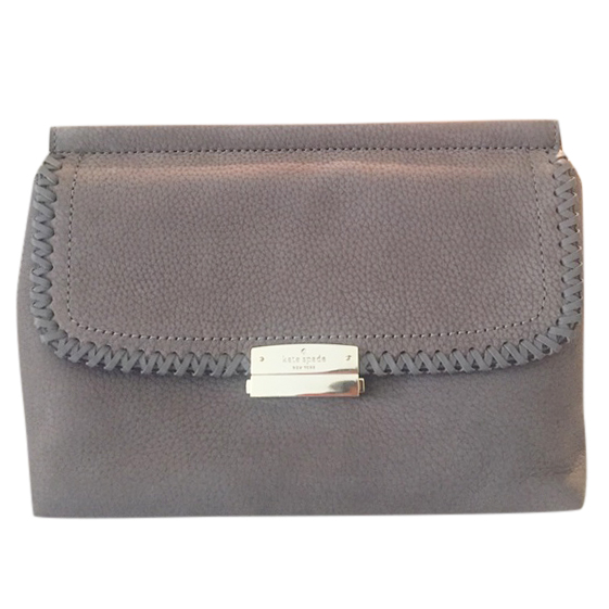 Kate Spade grey Dilla clutch bag