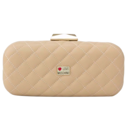 Love Moschino Quilted Clutch on Chain