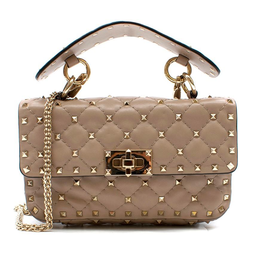 Valentino Poudre Small Rockstud Spike Bag