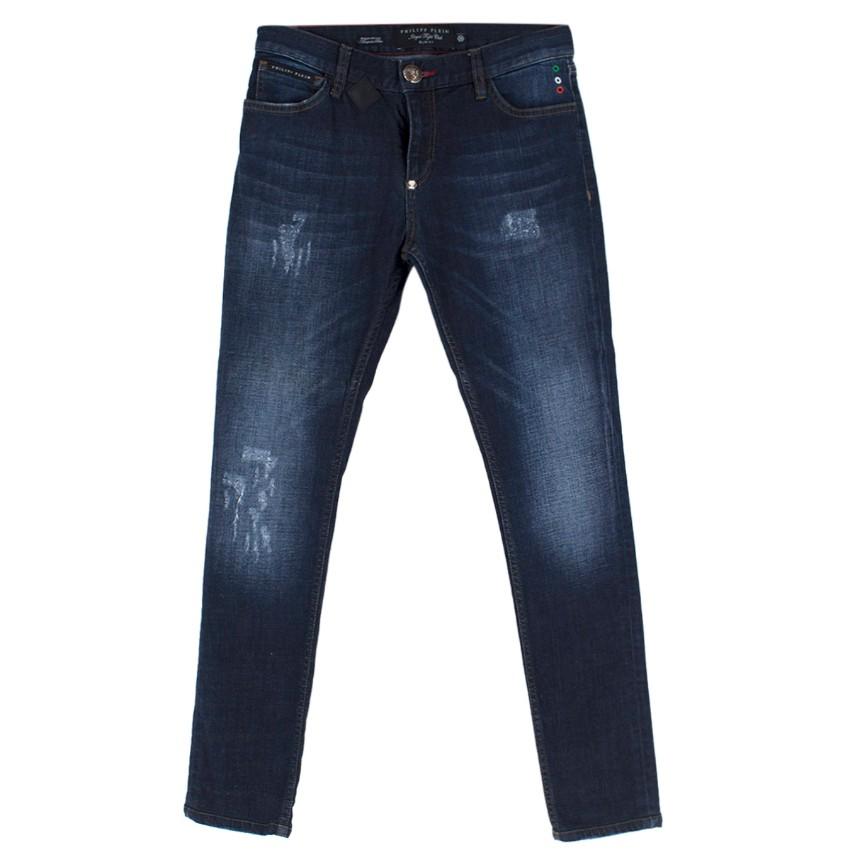 Philipp Plein Illegal Fight Club Slim fit Jeans