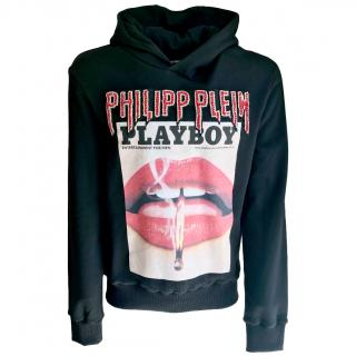 Philipp Plain Playboy Cover hooded sweatshirt