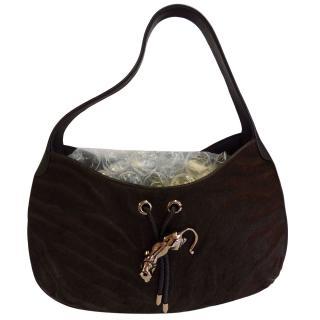 Carter vintage brown pony skin shoulder bag