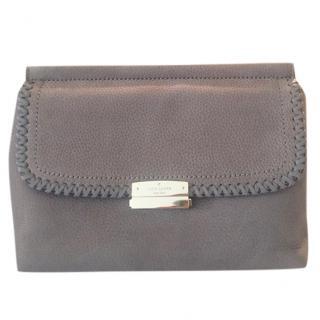 Kate Spade grey Dilla clutch bag