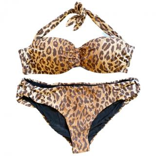 Dolce & Gabbana leaped print bikini