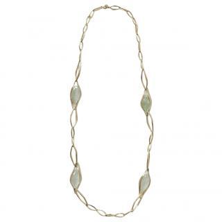 Alexis Bittar quartz infinity necklace