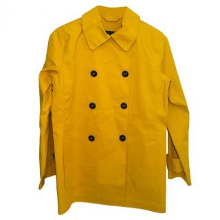 Church's England mustard yellow short coat