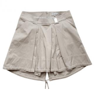 Celine beige cotton skirt shorts