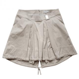 Celine beige cotton skirt shorts