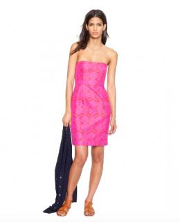 J Crew pink Ella Dress
