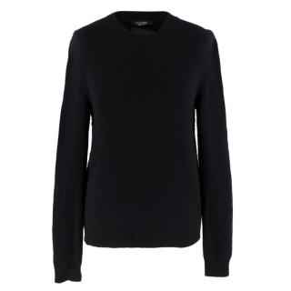 Valentino Cashmere Black Rockstud Knit Sweater