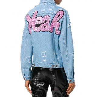 Forte Dei Miami Couture Yeah denim jacket