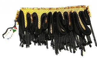 Sveva Beaded Fringe Cuff Bracelet