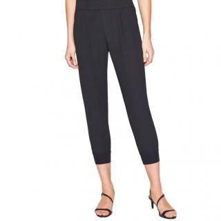 Joie Black Meriner Crop Trousers