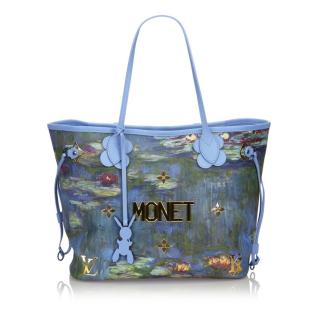 Louis Vuitton x Jeff Koons 2017 Masters Collection Neverfull MM Monet