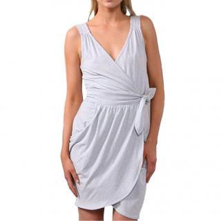 Marc by Marc Jacobs Grey Jersey Wrap Dress