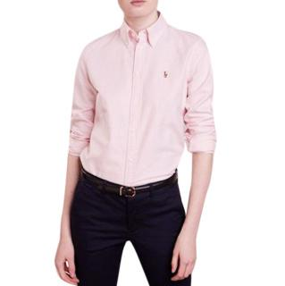 Ralph Lauren Striped Pink Shirt