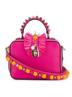 Dolce&Gabbana Embellished Leather Box Bag