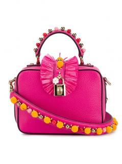 Dolce&Gabbana Embellished Leather Box Bag