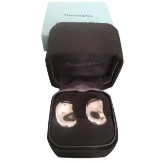 Elsa Peretti for Tiffany & Co Sterling Silver Bean Cufflinks