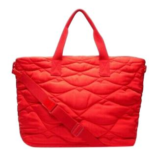 Lulu Guinness quilted lips chloe bag