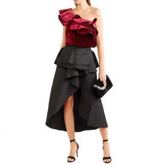 Johanna Ortiz Lorca Velvet Body Suit