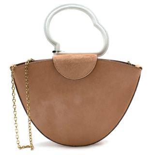 Danse Lente Lilou Calf Hair Textured-leather Tote