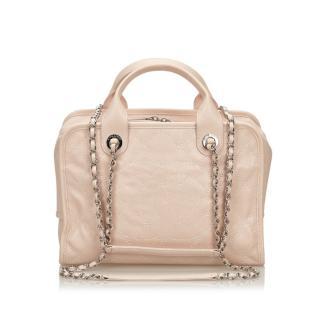 Chanel Caviar Deauville Bowling Bag