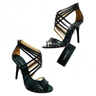 Dolce & Gabbana Black Strappy Sandals