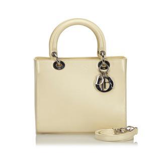 Christian Dior Lady Dior Handle Bag