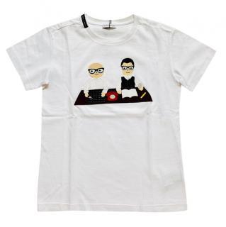 Dolce & Gabbana Boy's Printed T-Shirt