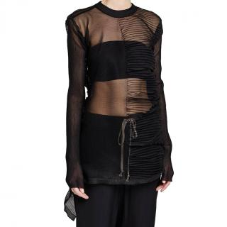 Rick Owens sheer knit pullover - new season