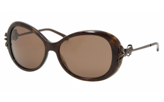 Chanel Tortoiseshell Bow Detail Sunglasses