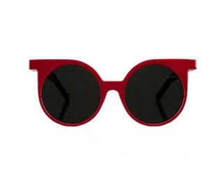 VAVA White Label Red Round WL 0001 Sunglasses