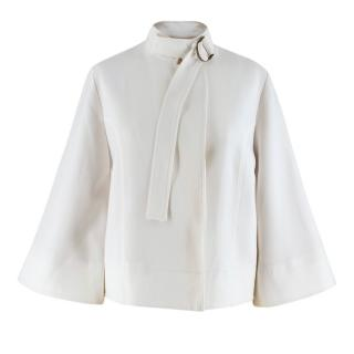Talie nk Off-white Bell-sleeved Jacket