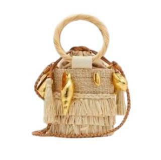 Aranaz Nona Basket Bag