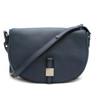 Mulberry Navy Blue Tessie Satchel Bag