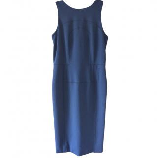 Amanda Wakeley Navy Fitted Dress