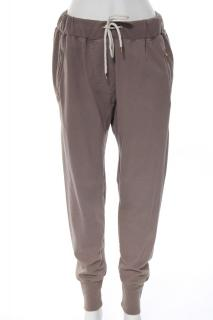 Isabel Marant Etoile brown drawstring cotton baggy harem Track sweat pants