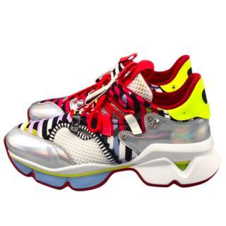 Christian Louboutin Multi-Print Sneakers