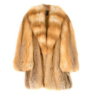 Grosvenor Canada for Harrods Ginger Fur Coat