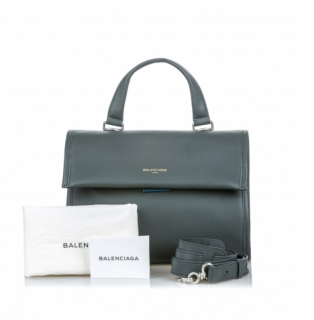Balenciaga Leather Tools Satchel