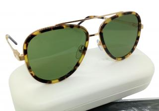 Marc Jacobs Tortoiseshell Aviator Sunglasses