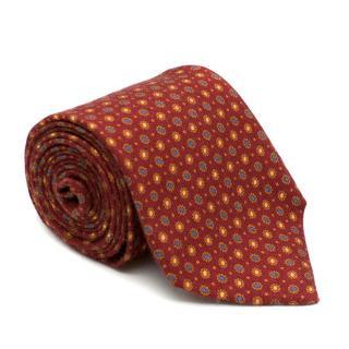 Doriani Wool blend Floral Embellished Tie