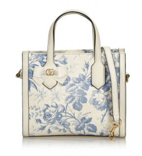 7416e8801d27 Gucci Herbarium Canvas Tote Bag