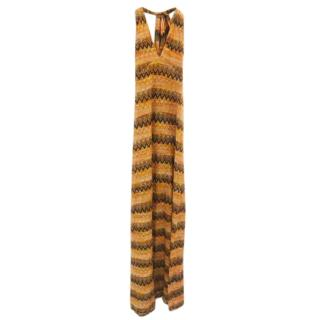 Missoni Zig Zag Halterneck Maxi Dress