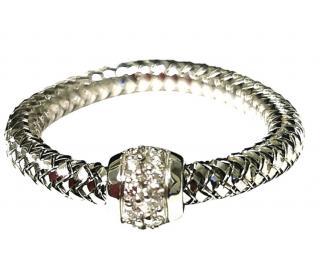 Roberto Coin flexible diamond cluster ring