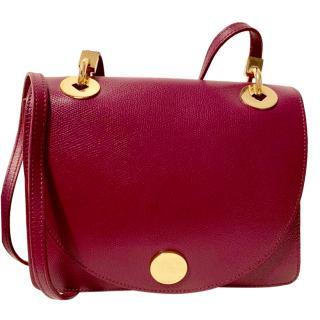 Furla Grained Leather Colour-Block Crossbody Bag